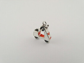 Sterling Silver Charm - Scooter