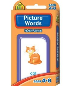 School Zone Flash Cards - Picture Words
