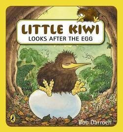 Little Kiwi Looks after the Egg