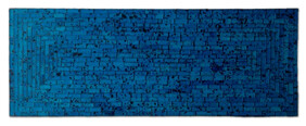 Mosaic Table Runner 80 x 30cm / Turquoise