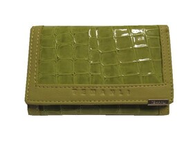 Wallet Green - Genuine Leather