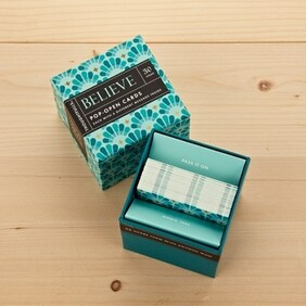 Boxed Inspirational Cards - Believe