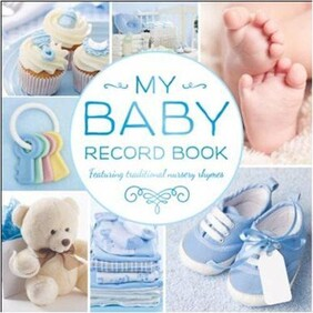 My Baby Record Book - Blue