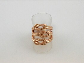 Ring - Rose Gold Triple Knot