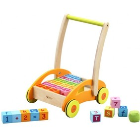 Baby Walker with Blocks - Classic World