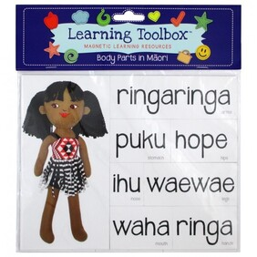Learning Toolbox Magnets / Body Parts in Te Reo Maori