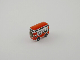 Sterling Silver Charm - London Bus