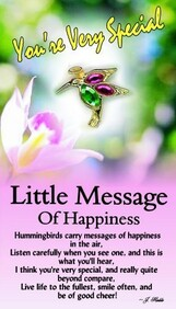 z Affirmation Angel Pin - Little Message of Happiness