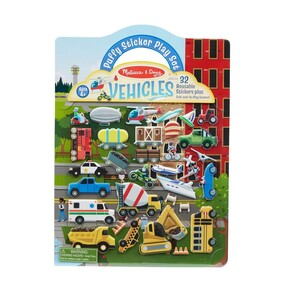 Melissa and Doug - Vehicles Puffy Stickers