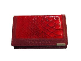 Wallet (Red) - Genuine Leather