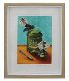 Angie Dennis - Framed Print - Strive To Be Happy