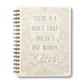 Journal - There Is A Voice That Doesn't Use Words
