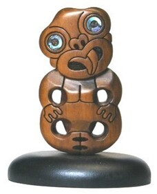 NZ Made Wooden Carving / Tiki