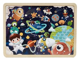 Space Jigsaw Puzzle 3+