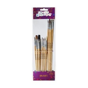 Paint Brushes - 12pce