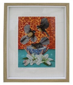 Angie Dennis - Framed Print - With Love