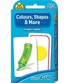 School Zone Flash Cards - Colours, Shapes and More