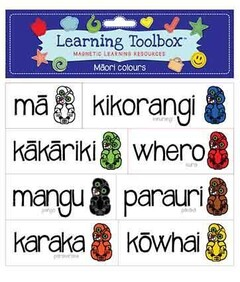 Learning Toolbox Magnets / Magnetic Te Reo Maori Colours