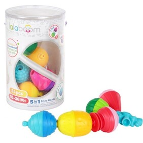 Lalaboom Snap Beads 24pce