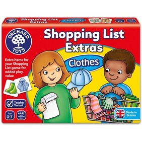 Orchard Toys - Shopping List Extas - Clothes