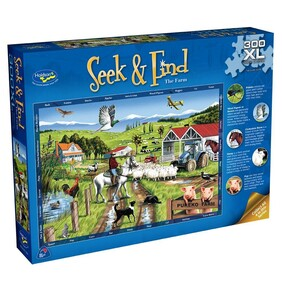 Holdson Puzzle - Seek & Find The Farm