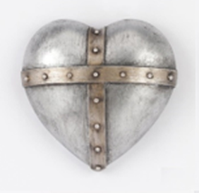 Collectable Heart - Dome Cross