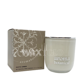Aromabotanical Soy Wax Candle 185grams / Exotic Amber