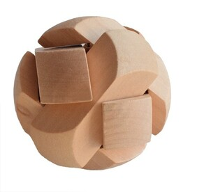 Bamboo Puzzle - 3D Ball