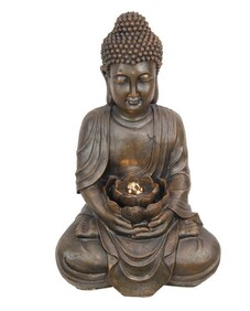 Water Fountain - Rulai Buddha with LED Light