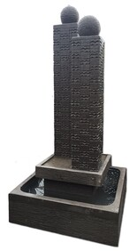 Twin Towers Water Feature 100cm x 200cm