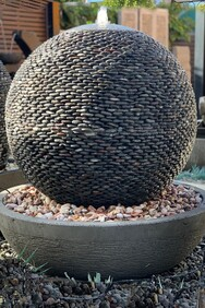 Stone Ball Water Feature 90cm x 90cm