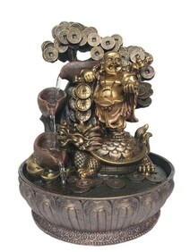 Water Fountain - Goodluck Laughing  Buddha (indoor)
