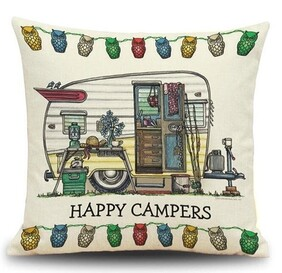 Cushion - Happy Campers Unpacked