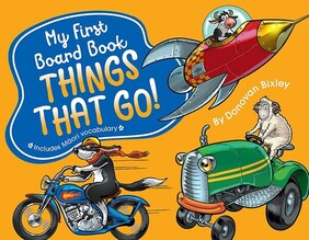 My First Board Book - Things That Go
