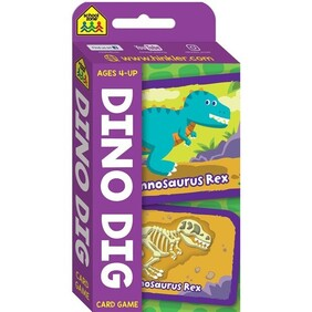 SchoolZone Card Game - Dino Dig