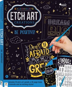 Picture Etching - Be Positive
