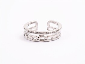 Ring - Silver Chain