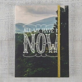 Journal - All we have is now...