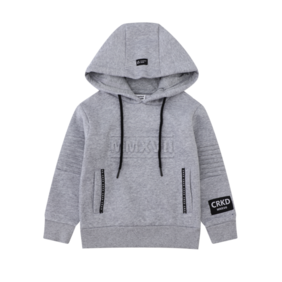 Cracked Soda -Racer Detail Hoodie - Marl (available in 4 sizes)