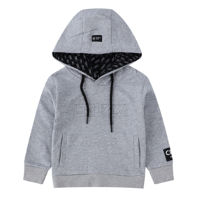 Cracked Soda - Zane Embossed Hoodie - Marl (available in 6 sizes)
