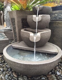 Cascading Tranquility Water Feature