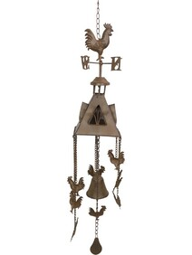 Rooster Weather Vane & Bell