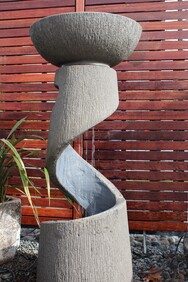 Ups and Downs  Water Feature 45cm x 45cm x 105cm