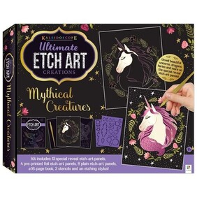 Etch Art - Ultimate Creations Kaleidoscope Mythical Creatures