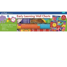Whiz Kids Early Learning Wall Charts