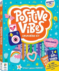 Positive Vibes Colouring Kit