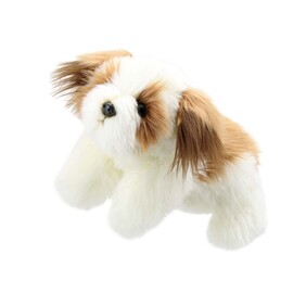 Puppet - Full Bodied Dog Brown & White