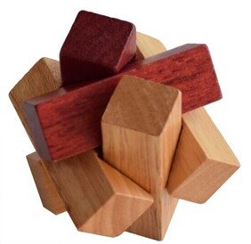 Bamboo Puzzle - 3D Cube