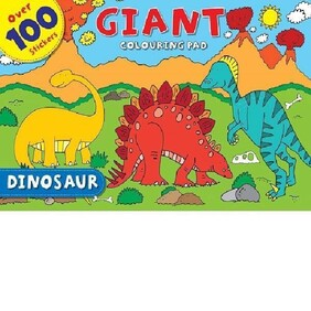 Giant Colouring Pad - Dinosaurs