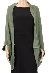 Dual Use Shrug and Scarf - Green